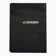 Aláírókönyv fekete